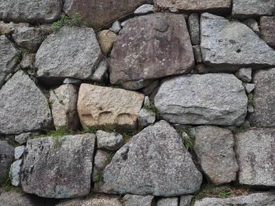 淀城天守台の石垣
