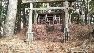 秋葉神社(旧本丸跡)