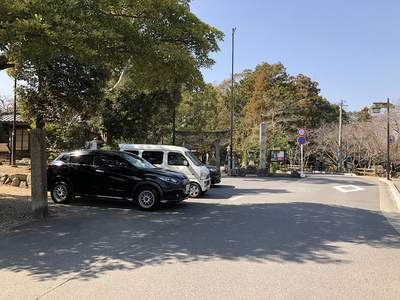 亀山神社参詣者駐車場(無料)