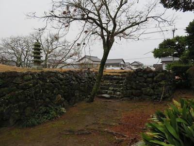 表門の石垣