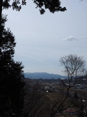 上山城方面