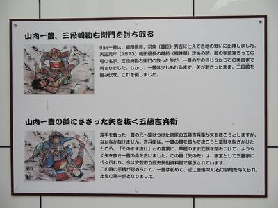 歴史民俗資料館外壁の絵の説明
