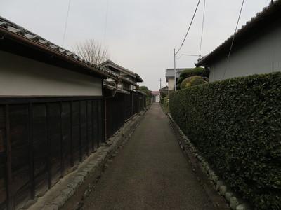 江戸時代から残る道