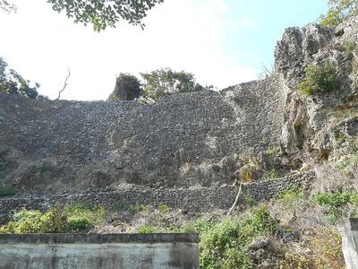 闘技場からの石垣②