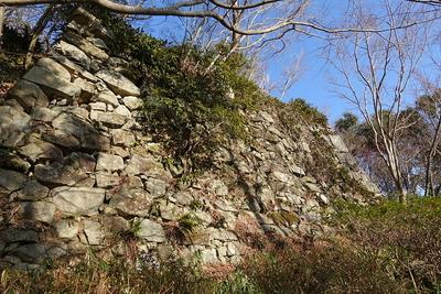 二の丸跡石垣