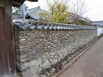 武家屋敷(寺村家)・西塀