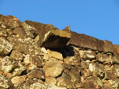 三ノ丸石垣の石樋