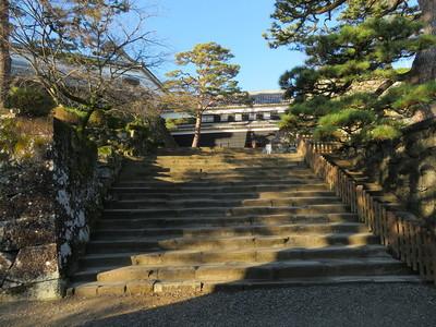 鉄門跡から詰門