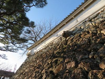 本丸東側石樋