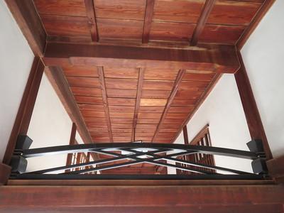 竹の節欄間(本丸御殿)