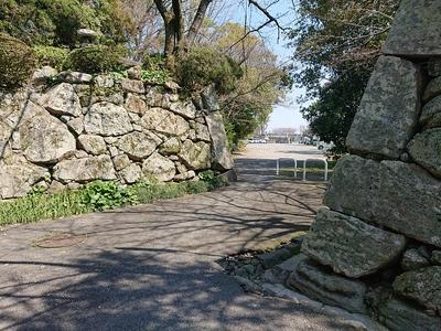 水門跡石垣