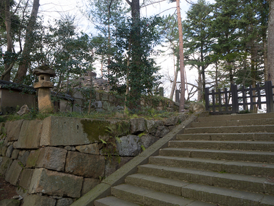 亀山城 天守台跡