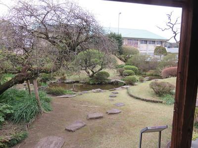 武家蔵の庭園