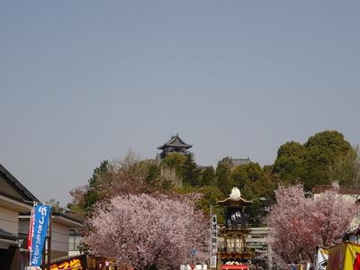 犬山祭りの城下町
