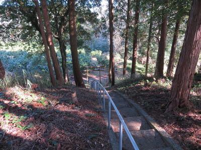 茶臼ケ森から東側