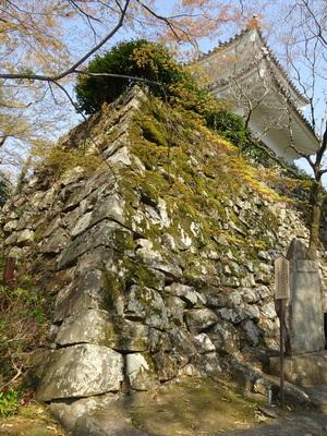 小銃櫓の石垣