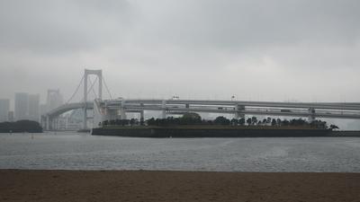 第三台場(お台場海浜公園砂浜から)
