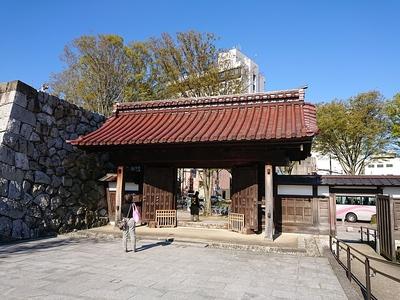 千歳御門(内側から)