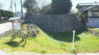 下渡門跡の石垣