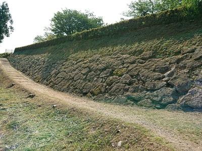 池尻口への登城路