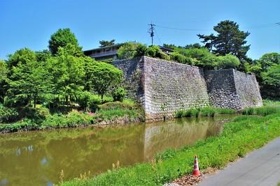 本丸石垣(南東側)