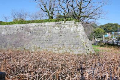 水堀と石垣