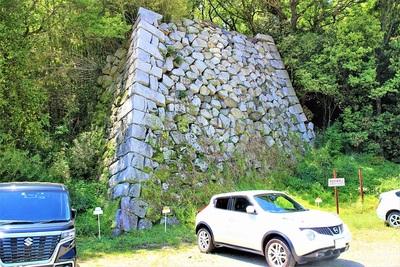 艮櫓跡(北側)