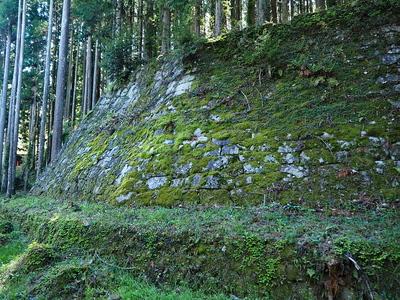 岩村城 菱櫓の石垣