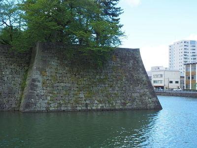 巽櫓跡の石垣