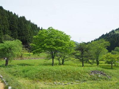 下城戸〜平面復原地区間の風景