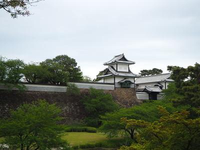 石川門遠景
