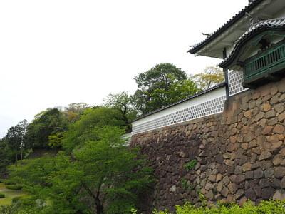 石川門石垣〜東の丸北面石垣