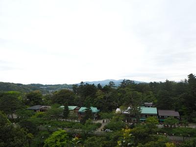丑寅櫓跡からの眺望