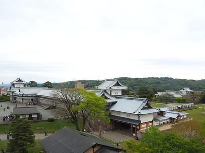戊亥櫓跡からの眺望