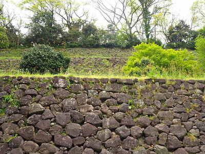 東ノ丸東面の石垣