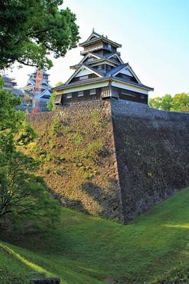 宇土櫓(北西側)