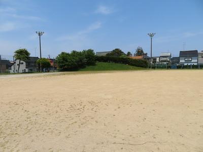 本丸跡(小学校グラウンド)