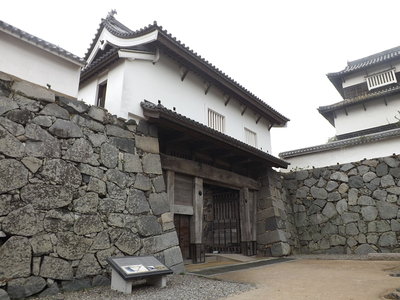 福岡城下の橋御門