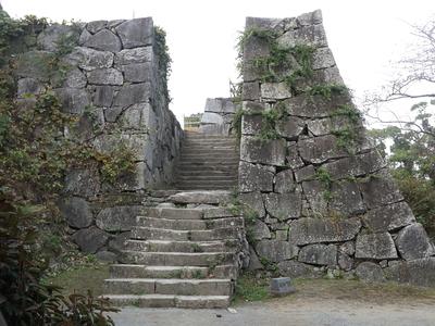福岡城鉄御門跡