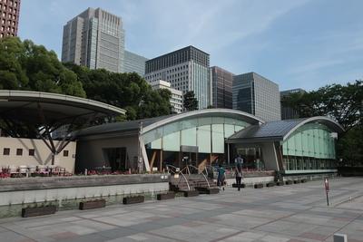 スタンプ設置場所(和田倉門前休憩所)