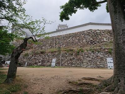 官兵衛の石垣(上山里下)