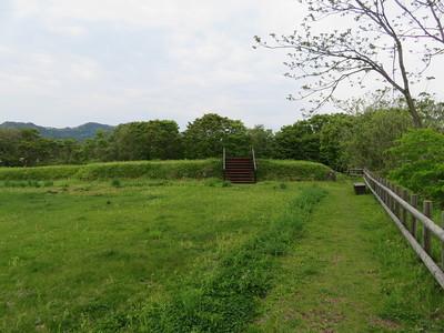 本丸南西隅櫓跡