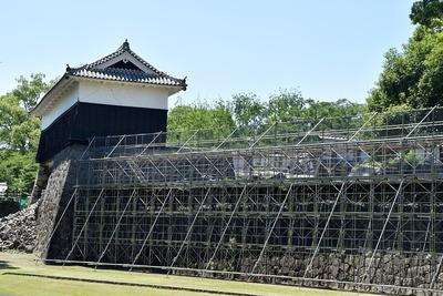 馬具櫓と長塀