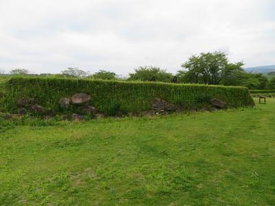 本丸南虎口の石垣