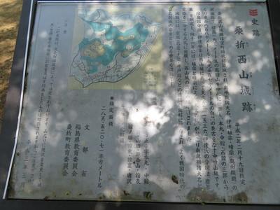 桑折西山城跡