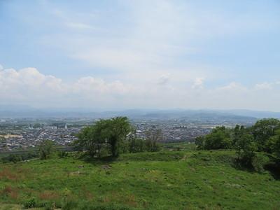 本丸からの眺望(南側)