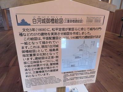 白河城御櫓絵図