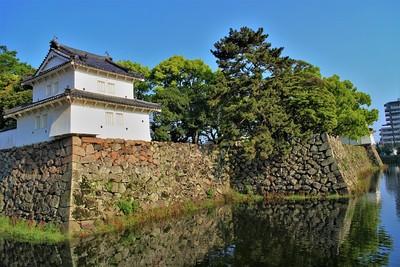 東之丸二階櫓・東之丸三階櫓跡(南東側)