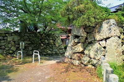 本丸水門跡(北東側)