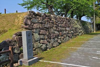 本丸南側石垣(北側)